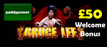 Play Bruce Lee slot at Paddy Power Games